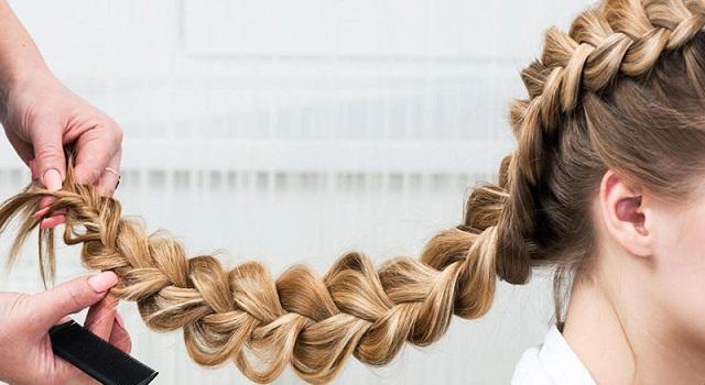 بستن موی زنانه