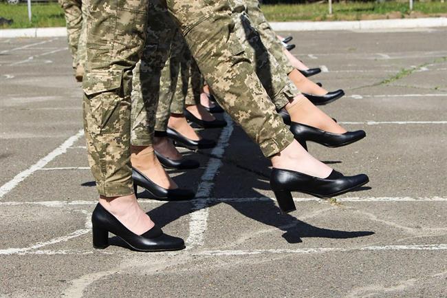 رژه ارتش زنان اوکراین